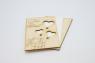 """Заготовки деревянной открытки. """"Для тебя"""" тонированная"""