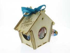 Смотреть цены на деревянные заготовки кормушки птиц Детский сад С новым годом Купить в интернет магазине производителя Шоп Чилдрен Той для сборки своими руками.