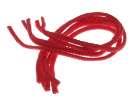 Ручка шнура ПП 6мм 450мм(красный). Универсальная