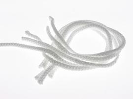 Ручка шнура ПП 6мм 450мм(белая). Универсальная