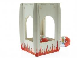 Смотреть цены на деревянные заготовки кормушки птиц Фонарик 12х15 Купить в интернет магазине производителя Шоп Чилдрен Той для сборки своими руками.