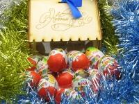 """Сладкий подарок детям. """"Большая Кормушка Киндер"""" Подарок новогодний."""