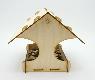 """Кормушка для птиц для детей. """"Дом на ветке"""""""