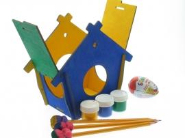 Смотреть цены на деревянные заготовки кормушки птиц Детский сад Купить в интернет магазине производителя Шоп Чилдрен Той для сборки своими руками.