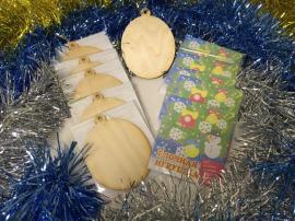 Купить поделку в детский садик школу. Основа из дерева для творчества и декупажа.