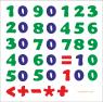 Деревянные цифры пазл. Учим арабский счёт.