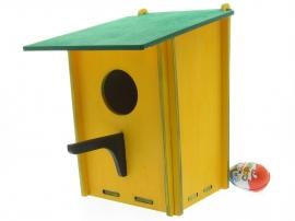 Купить заготовки набора скворечника из дерева Удобный для сборки своими руками в детский сад школу.