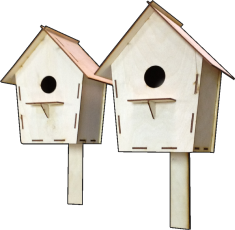 Клеевой домик для птиц. Воробейник малый(Л40)